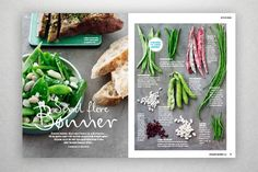 FIT LIVING - Luise Krogh Vestergaard – Graphic Design. #food #layout #design