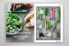 FIT LIVING - Luise Krogh Vestergaard – Graphic Design. #food #layout #design