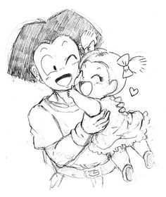 marron and krillin father daughter.