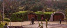 Green Magic Homes, casas verdes, casas ecológicas cubiertas de tierra, green homes, ecologyic homes