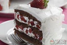 Receita de Bolo de Nutella com morango em receitas de bolos, veja essa e outras…