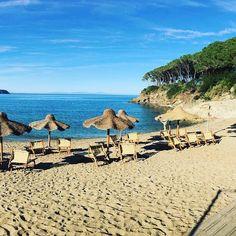 Buongiorno dalla spiaggia di #calanova a #capoliveri nello scatto di @tarkhan. Continuate a taggare le vostre foto con #isoladelbaapp il tag delle vostre #vacanze all'#isoladelba. http://ift.tt/1NHxzN3