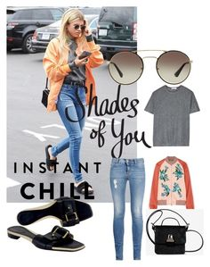 """""""Shades of You: Sunglass Hut Contest Entry"""" by beth-villasin ❤ liked on Polyvore featuring Prada, STELLA McCARTNEY, Gucci, Jonathan Saunders, MM6 Maison Margiela, T By Alexander Wang and shadesofyou"""
