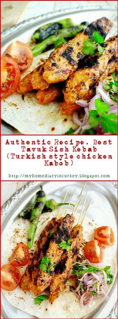 Tavuk Kebabı /  Best Chicken sish Kebab recipe. This delicious chicken kebab was inspired by famed Adana kebab. But I made it from chicken instead of lamb/ beef. But be sure this would be your new favorite list.#Turkishkebab #Turkishfood #kebab #kabob #chickenkebab #lamb #beefkebab #adanakebab #maindish #sishkebab #barbecue #grilled #InheritanceRecipes