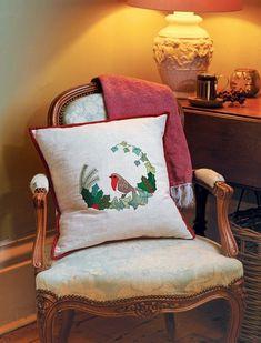 Templates free printable robin applique cushion