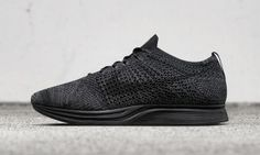 Nike Flyknit Racer Black, Nike Racer, Triple Black, Shoes Men, Men's Shoes, Black Nike Shoes, Black Sneakers, Best Sneakers, Black Nikes