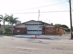 """This was my local fire dept. growing up! Los Angeles County Fire Department Station 127 in Carson, California. Shooting location for the 1970s TV series """"Emergency!"""", appearing as Station 51. July 2, 2012."""