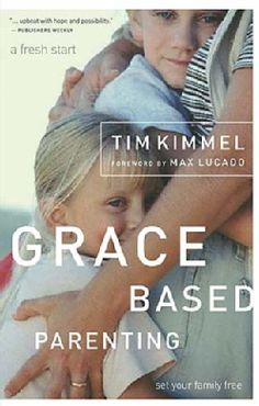 Grace Based Parenting....this is an amazing book....read it a few years ago but now that the kids are older, it might just be a good time to pull it off the shelf again!  I didn't have teenagers back then!