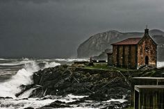 Santa Catalina Hermitage in Mundaka Biscay Basque Country.