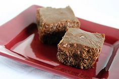 Dr Pepper Brownies w/ Frosting