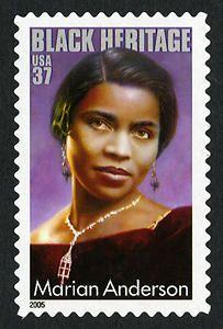 37c Marian Anderson 2005