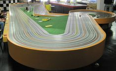 Discover Buzz-A-Rama in Brooklyn, New York: The last slot car racing arcade in Brooklyn is keeping the dream of speedy little autos alive. Slot Car Race Track, Slot Car Racing, Slot Car Tracks, Slot Cars, Race Cars, Nyc With Kids, Go To New York, Arcade, Airplanes