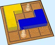 présentation du jeu de stratégie L game ou jeu du L