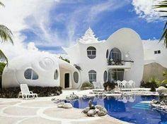 Дом Ракушка, Мексика