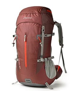 Mountaintop 45L5L Hiking BackpackOutdoor BackpackTravel BackpackClimbing BackpackCamping BackpackMountaineering Backpack with Rain Cover5806II -- Visit the image link more details. (Note:Amazon affiliate link)