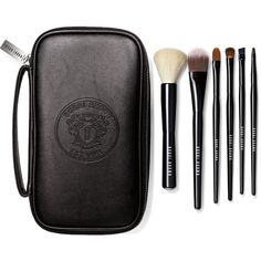 Bobbi Brown Classic Brush Collection found on Polyvore featuring beauty products, makeup, makeup tools, makeup brushes, eye shadow brush, makeup blending brush, foundation makeup brush, bobbi brown cosmetics and eyeshadow brushes