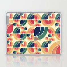 Vintage Garden Pattern v.3 Laptop & iPad Skin by VessDSign - $25.00