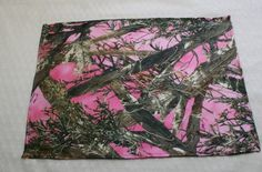 Pink Camouflage Placemat  Pink Camo Placemat  Satin by IDoDoodads, $12.95
