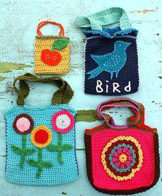 Pattern for simple crochet bag
