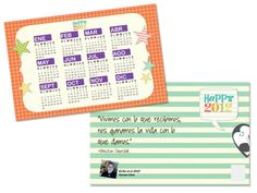 """A personalized calendar I made for my friends and clients in Pixingo. 8.5"""" x 5.5"""" gloss or matte finished both sides. Have fun! http://www.pixingo.com/karmen #calendarios #postales #pixingo"""