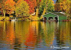 Lake Minocqua Oct 2013