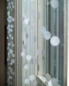 tren di nozze: decorazioni fai da te: una tenda magica/DIY decor: a magical curtain