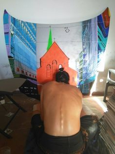 painting working process