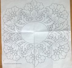 Embroidery and X-Stitch Cutwork Embroidery, Vintage Embroidery, Embroidery Stitches, Free Machine Embroidery Designs, Applique Patterns, Whole Cloth Quilts, Pencil Design, Point Lace, Motif Floral