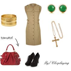 """Spain Hetalia Closplay"" by closplaying on Polyvore"