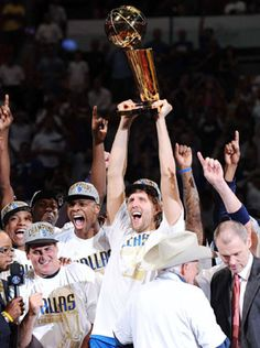 Well deserved. We had been waiting a long time. Love dirk. Love Cuban. Love the Mavs. <3 DALLAS.
