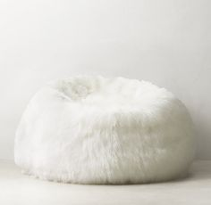 Kashmir Faux Fur Bean Bag/ RHTEEN