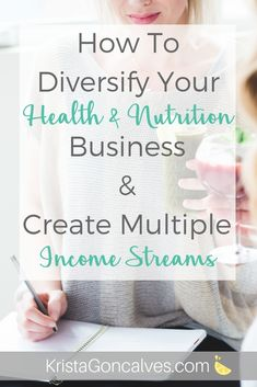 I& a Nutrition Pro, but I don& like consulting! How can I have other income streams? I'm a Nutrition Pro, but I don't like consulting! How can I have other income streams?{This post has been totally re-juiced and was original Nutrition Education, Gym Nutrition, Nutrition Quotes, Holistic Nutrition, Proper Nutrition, Nutrition Plans, Nutrition Information, Child Nutrition, Training