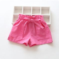 New Summer Candy Color Baby girls shorts cotton mix children shorts kids shorts for girls clothes toddler girl Shorts Toddler Girl Shorts, Kids Shorts, Toddler Outfits, Cartoon Outfits, Short Niña, Short Girls, Outfits Niños, Kids Outfits, Fall Outfits