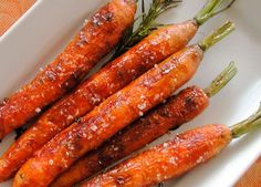 Paleo Chipotle roasted carrots