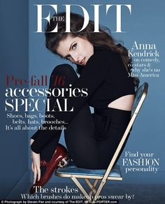 New interview: To see the full interview with Anna Kendrick read The EDIT on NET-A-PORTER www.net-a-porter.com/magazine/357/18 or download The EDIT's free app for iPhone, iPad and Android
