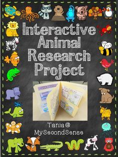 Interactive Animal Research - Maybe a way to introduce research to my first and second graders. From Tania at My Second Sense