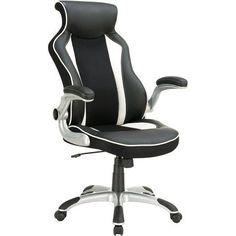 Coaster Race Car Office Chair, Multicolor