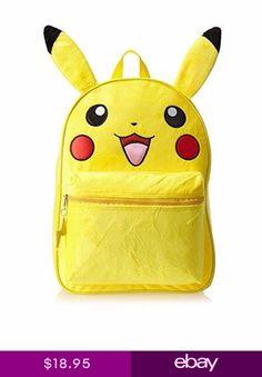7838d21c05fd Pokemon Pikachu 16 Large Backpack For Boys Girls Kids School Bag Pokemon Go  USA
