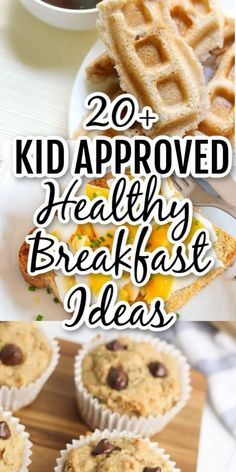 These easy healthy breakast ideas for kids are perfect before school and great for picky toddlers. Make these recipes and keep the family full all week!