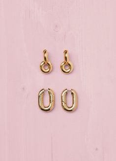 Chunky Earrings - Céline