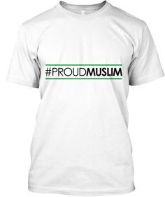 Be a proud Muslim Wear it, show it and live it. Now on sale! Regular price $29.99