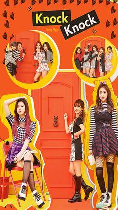 Wallpaper Knock Knock Twice Nayeon, Twice Mv, Twice Kpop, South Korean Girls, Korean Girl Groups, Twice Knock Knock, Twice Songs, Warner Music, Want You Back