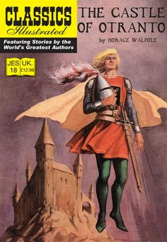 Cover for Classics Illustrated (JES) (Classic Comic Store, 2008 series) #18 - The Castle of Otranto