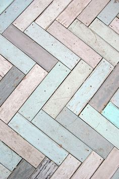 ice-cream colours for the floor boards