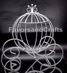 Cinderella Pumpkin Carriage Wedding Wire by Favorsandcrafts
