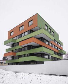 Affoltern Housing Development, Zurich, Switzerland by Em2n #architects - #modern #design