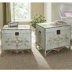 Trunk Tables, Adriana Set of 2 from Ginny's ®