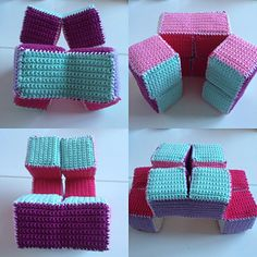 Crochet and Play is a 3D toy you can make yourself.