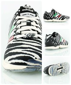 adidas zx flux zebra