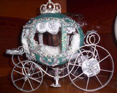 Ostrich egg Cinderella Coach - I have an Ostrich egg...wonder if I'm talented enough to make it into this!  Nah.....